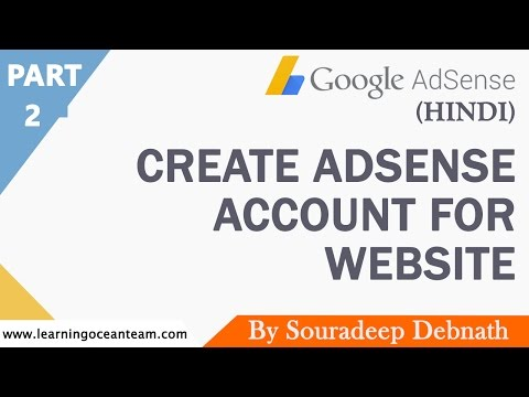 How to Create Adsense Account For Website | Google Adsense Complete Series | Part 2