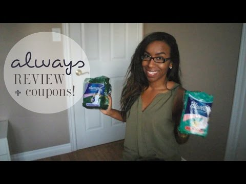 FREE Pads, Tampons & Coupons + Always Ultra Thin Review!