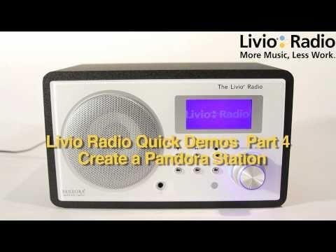 Livio Radio Quick Demos Part 4: How to Create New Pandora Station