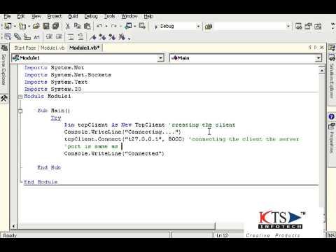 Network Programming using VB.NET  Networking  Network Applications VB.NET Video Tutorials
