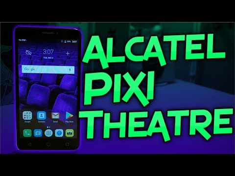 Alcatel Pixi Theatre Unboxing & First Impressions