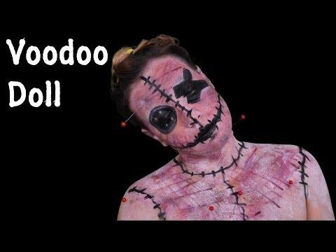 Halloween Makeup Tutorial: Bambola Voodoo (Voodoo Doll)