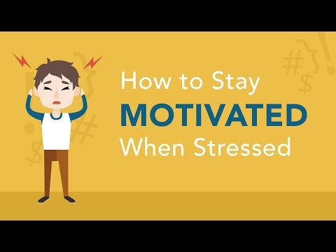 How to Stay Motivated When Stressed | Brian Tracy
