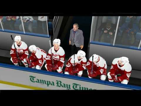 NHL 2004 Rebuilt: Tampa Bay 2016-2017 Game 1 vs. Detroit