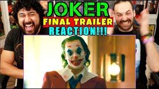 JOKER - FINAL TRAILER | REACTION!!!