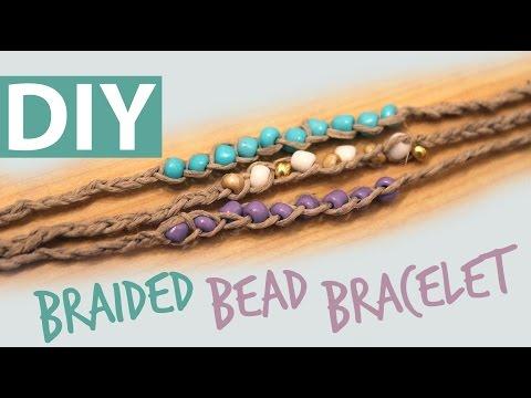 DIY Braided Bead Bracelet | ArtsyPaints