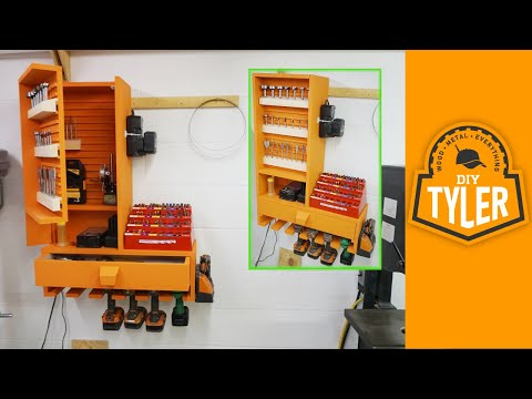 French Cleat Drills / Bits / Charging Station