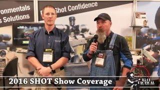 Shot Show 2016 - Bryan Litz, Todd Hodnett And Nick Vitalbo At The Kestrel Booth