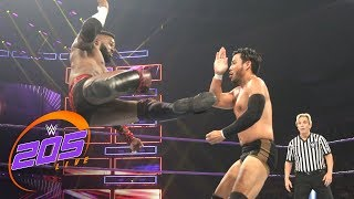 Cedric Alexander vs. Hideo Itami - WWE Cruiserweight Championship Match: WWE 205 Live, July 10, 2018