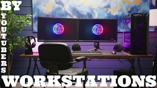 Workstations by youtubers - powerful and cute computer setups - super best top - music - SCREENSHOTZ