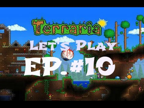 Let's Play Terraria (1.2) ios- Flying Carpet! EP. #10