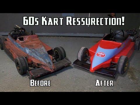 60's Go Kart Body Restoration!