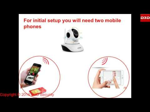 How to configure D3D Wireless PTZ IP camera with Dongle or Hotspot Wi-Fi