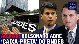 AO VIVO: BOLSONARO ABRE A 'CAIXA-PRETA' DO BNDES - PRONUNCIAMENTO - LIVE DE 12/12