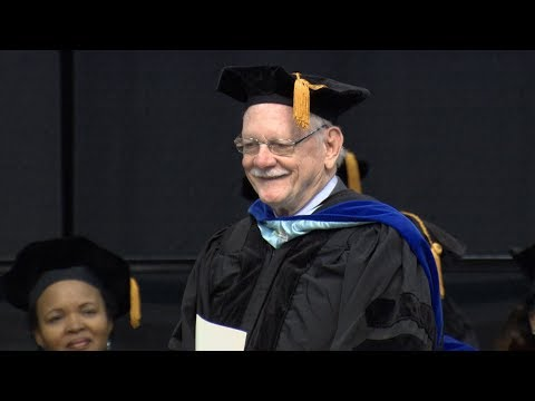 Pardee School of Global Studies Convocation 2018 Recognition of Prof. William Keylor