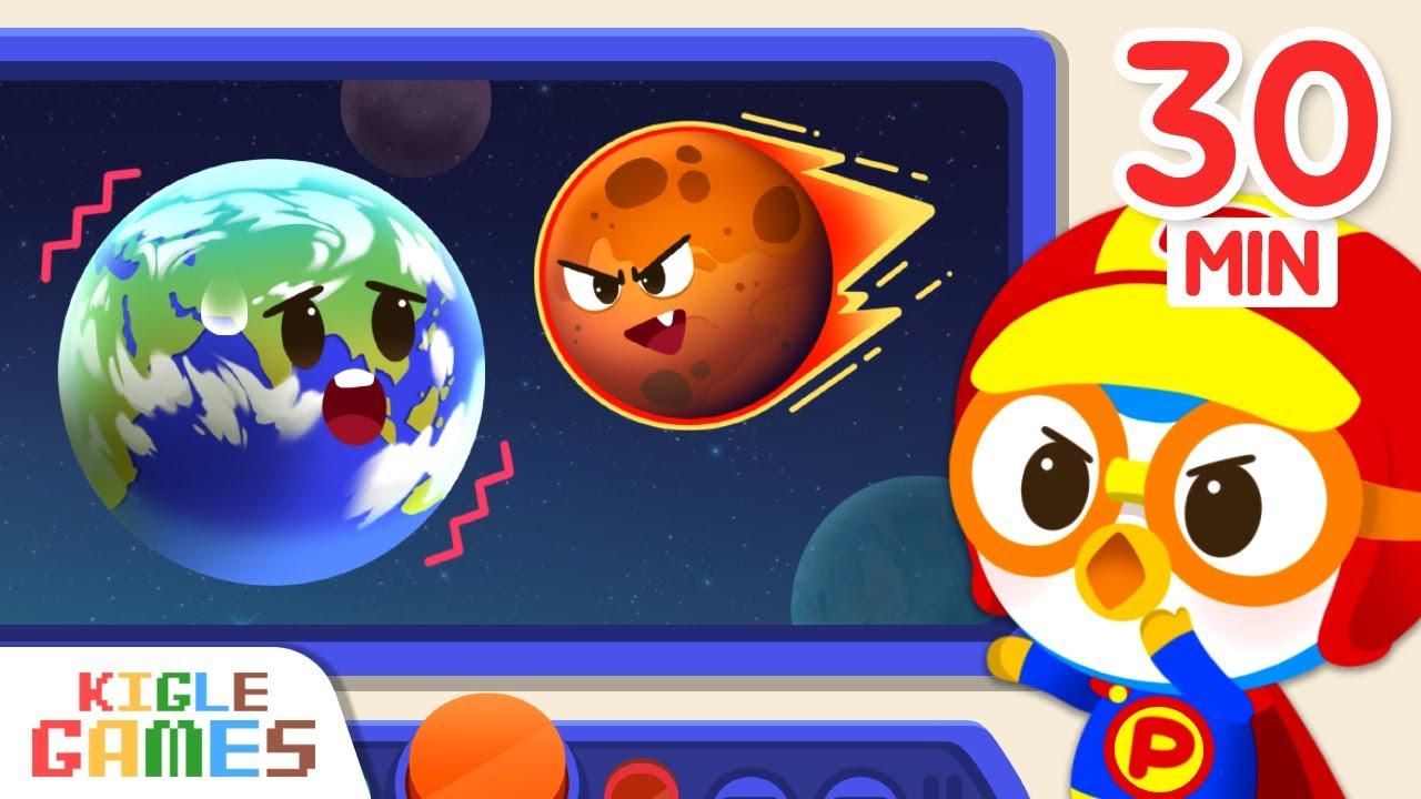 Pororo's Hero World Non Stop Play | Superhero Series | Monster | KIGLE GAMES