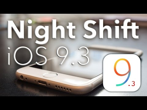 Night Shift iOS 9.3: Flux for iOS, from Apple
