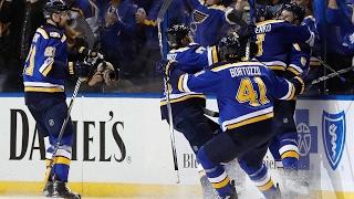 Tarasenko scores pair to help Blues even series with Predators