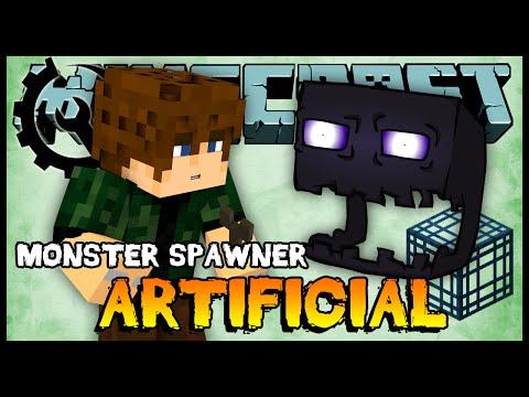 Monster Spawner Artificial (Enderman)  - Archcraft 2 #36 (Minecraft Server 1.7.10)