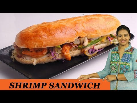 SHRIMP SANDWICH