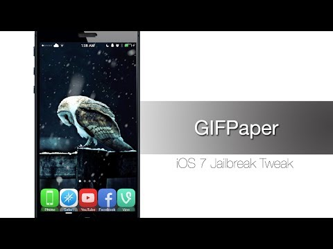 GIFPaper allows you to use a GIF as your Wallpaper - iPhone Hacks