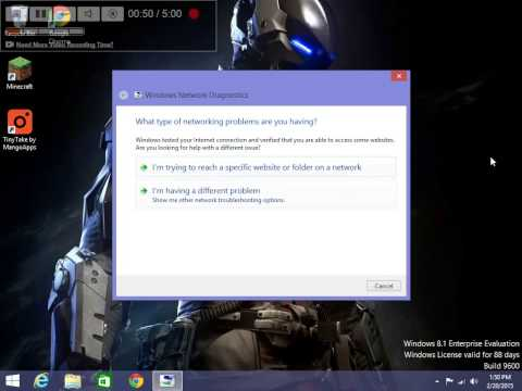 How to Fix a Limited Access Network Connection on windows 8.1