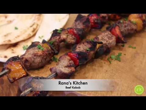Easy to make Beef Kabob skewers