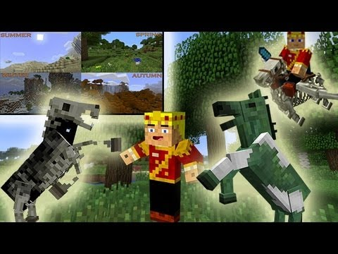 MineCraft 1.6 Snapshot: 13w20a Seasonal Cycles, Undead Horses, Zombie Riders!