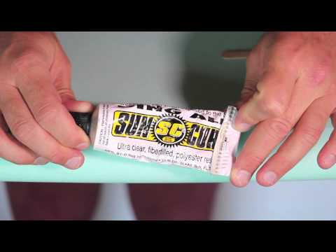 Surfboard Ding Repair: How to Fix A Surfboard Ding no.62 | Compare Surfboards