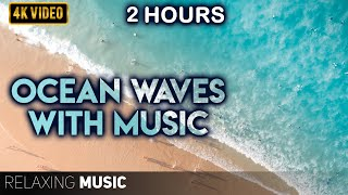 2 Hours of Ocean Sounds | Calm Piano Music, Sleep Music, Meditation Music, Pregnancy Music