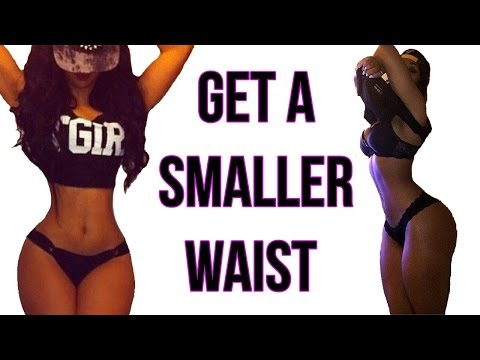 How To Get A Small Waist | 4 Workouts That Gives You A TINY Waist!