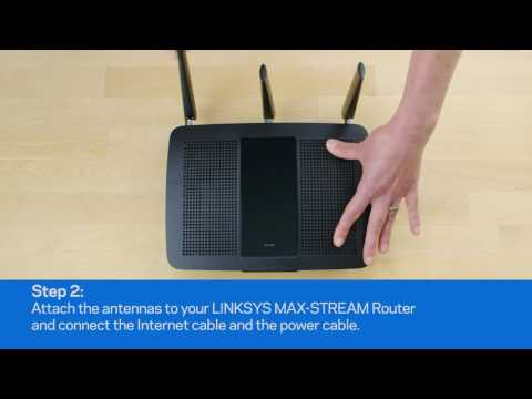 Linksys MAX-STREAM Routers - Easy Setup