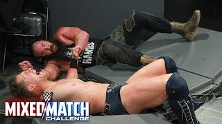 Braun Strowman smashes The Miz through the ringside barricade in WWE MMC Semifinals