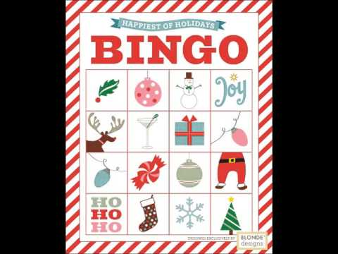 christmas bingo cards to print
