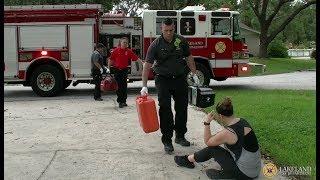 Farming Simulator 17 #26 Frozen Lake Ice Rescue - Fire