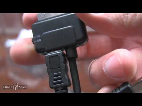 Scosche SneakPeek II for iPhone, iPad, iPod to TV cable Unboxing Review