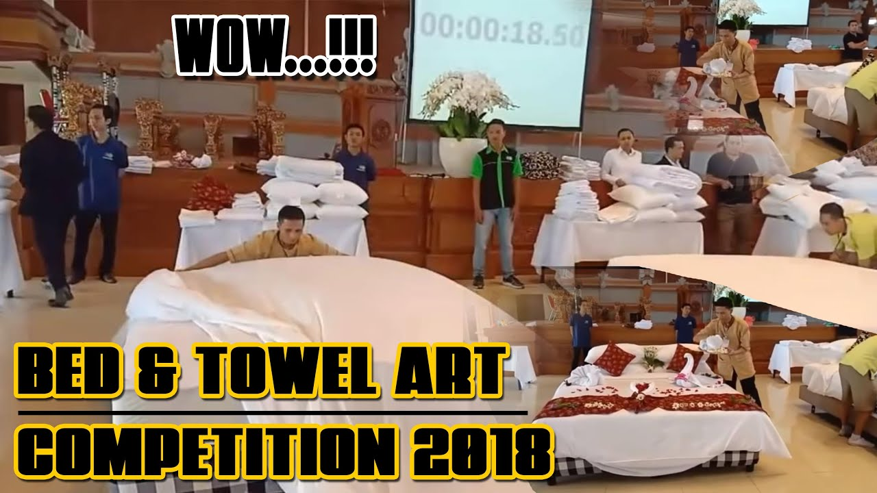 Bed & Towel Art Competition 2018