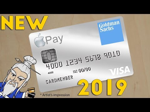 APPLE and GOLDMAN SACHS to Issue NEW CREDIT CARD