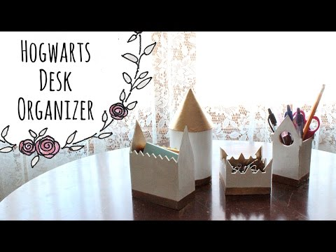 Hogwarts Castle Desk Organizer (DIY)