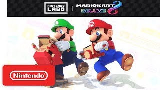 Nintendo Labo: Vehicle Kit + Mario Kart 8 Deluxe