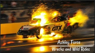 Ashley Force | Wrecks and Wild Rides | Funny Car
