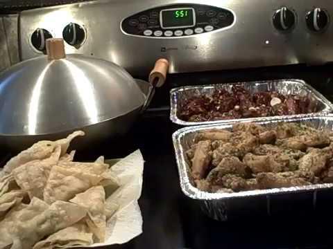 GARLIC PARMESAN WINGS Cooking Tutorial 5/10/11