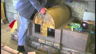 Build Your own Masonry Fireplace - Masonry Heater - Masonry Stove (Sample Clips)