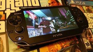 GTA 5 Remote Play - PS4 / PS Vita First Person (1080p HD)
