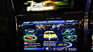 The Fast And The Furious Arcade Game: Kids Challenge Each Other Who Can Be The Worst Driver EVER