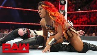 Sasha Banks vs. Ember Moon vs. Ruby Riott - Money in the Bank Qualifying Match: Raw, May 7, 2018