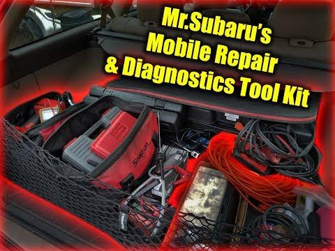 Mr. Subaru's Mobile Repair & Diagnostics Tool Kit