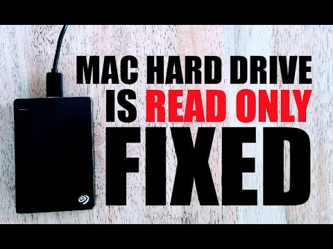 Solved: External Hard Drive is Read Only on Mac