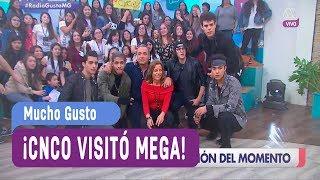 ¡CNCO visitó Mega! - Mucho Gusto 2017