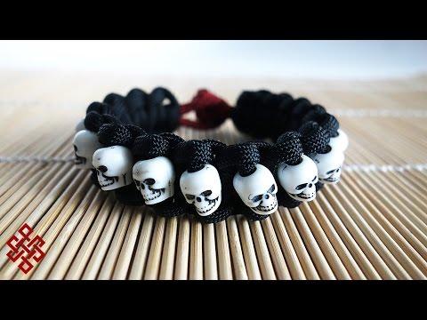 Skull Band Paracord Bracelet Tutorial